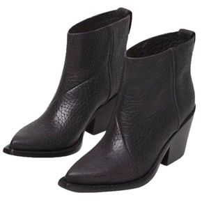Acne Studios Black Donna Boots  Booties